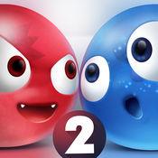 抖音上红蓝小球对战的游戏图标