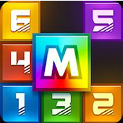 多米诺骨牌拼图科学风格图标