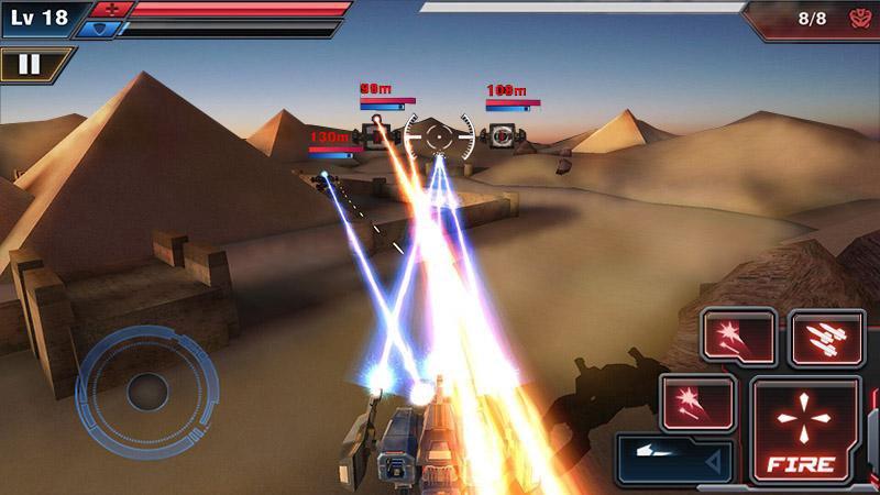 机甲强袭3D截图3