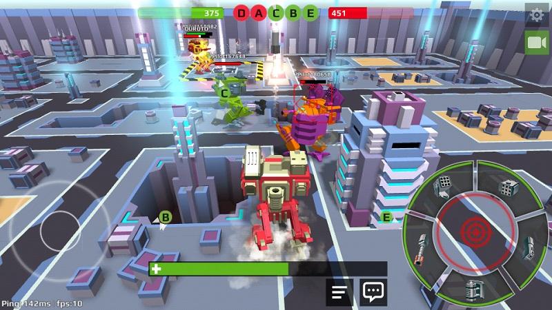 机器人世界解锁武器破解版截图2