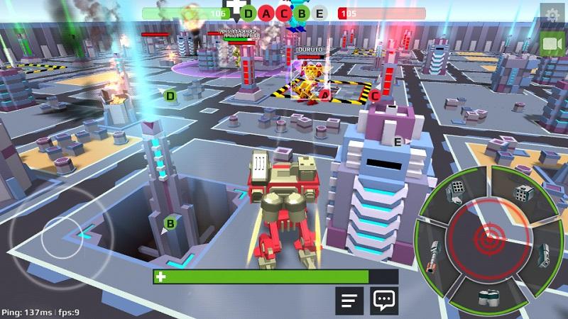机器人世界解锁武器破解版截图5