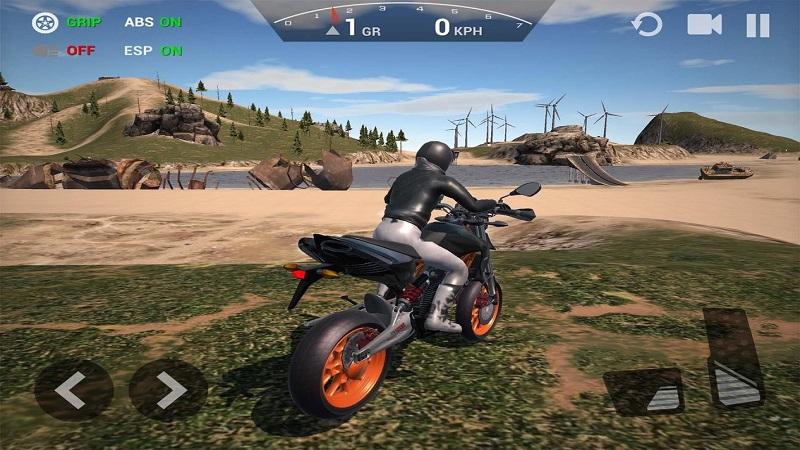 极限摩托车模拟器无限金币钻石版游戏截图