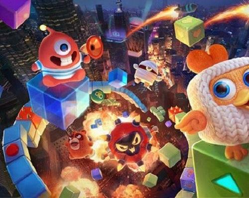 《玩具大乱斗》×《阴阳师》 和风角色进驻玩具城!