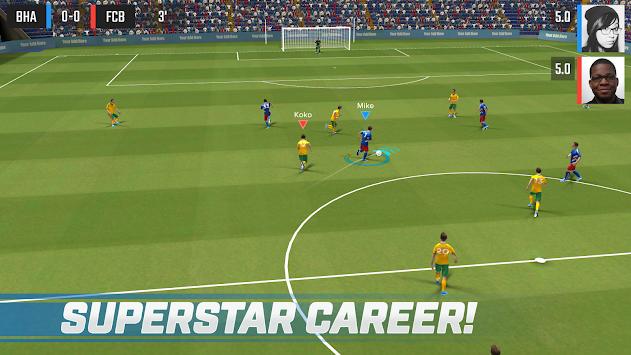 真正的足球明星游戏截图