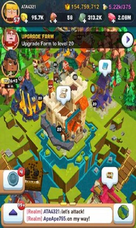 王国之战无限金钱版游戏截图