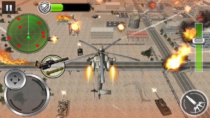 空中炮艇战斗无限金钱版截图1