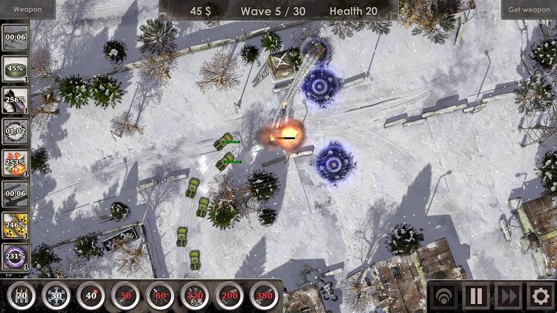 战地防御3无限金币版游戏截图