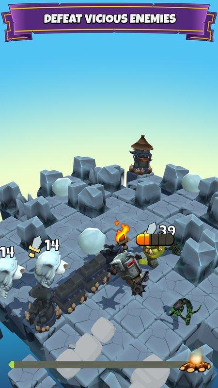 块状骑士破解版游戏截图