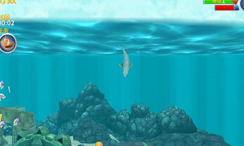 饥饿鲨鱼进化幽灵鲨破解版游戏截图