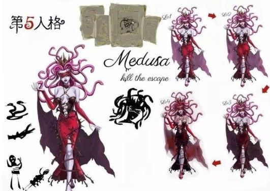 《第五人格》新监管者美杜莎:蛇发女妖的复仇!