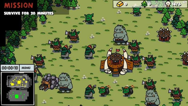 卡通战争免付费版游戏截图