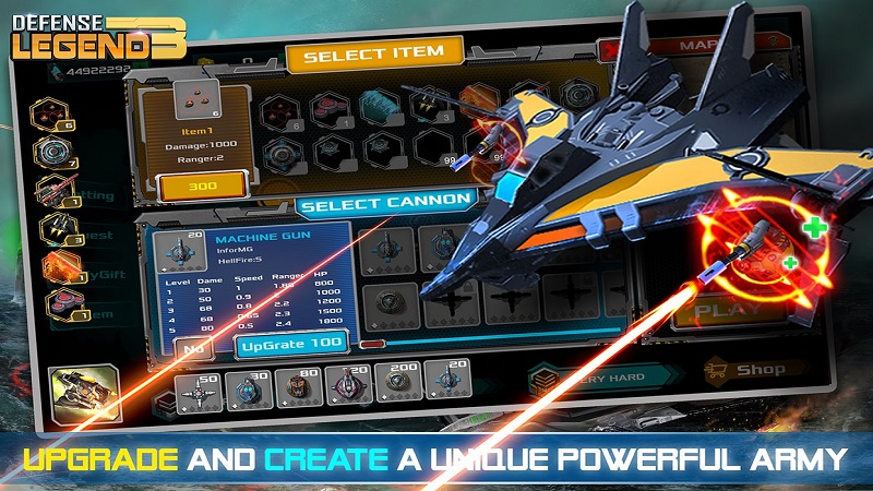 塔防传奇3:未来战争无限金币版游戏截图