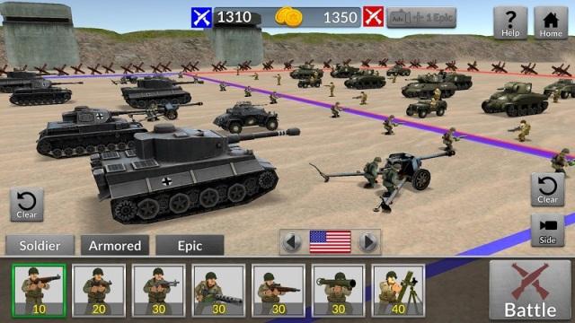 二战模拟器无限钻石版游戏截图