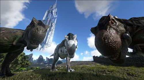 《方舟:生存进化》手机版上架,指尖触碰远古霸主