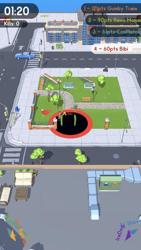 黑洞大作战官方中文版游戏截图