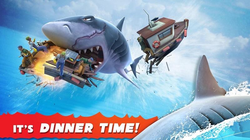 饥饿鲨鱼世界破解版游戏截图