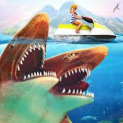 饥饿的双头鲨破解版图标
