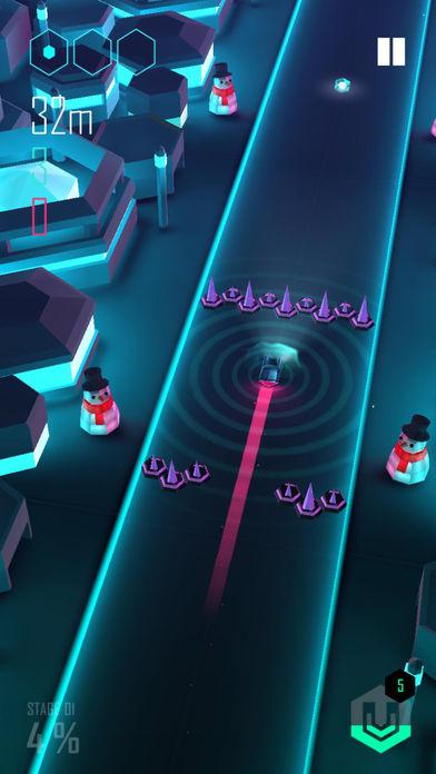 电音超跑无限金币体力宝石版游戏截图