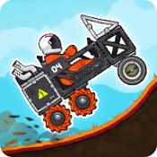爬坡流动太空车