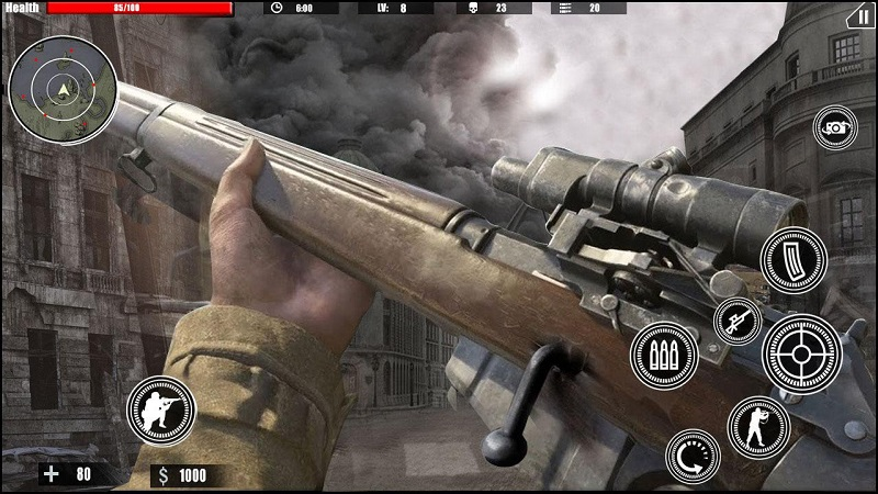 狙击任务的召唤ww2截图1