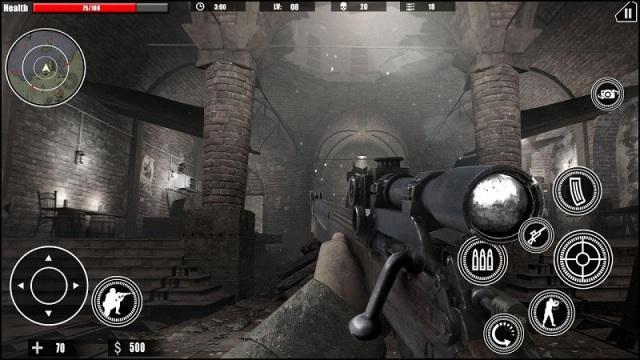 狙击任务的召唤ww2截图2