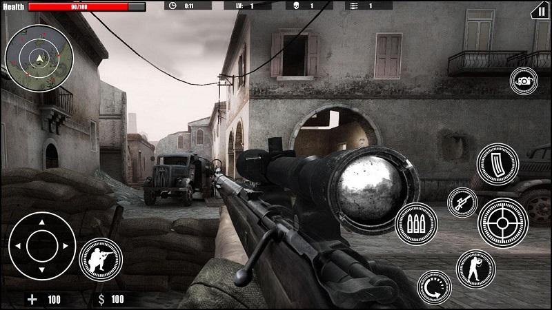 狙击任务的召唤ww2截图4