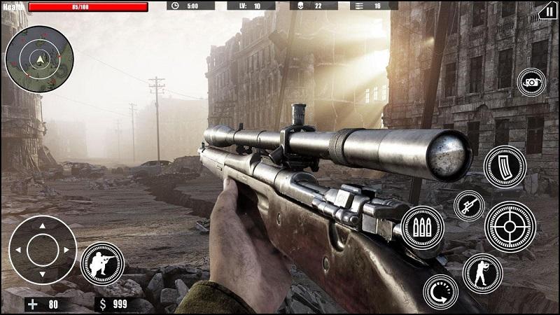 狙击任务的召唤ww2截图5