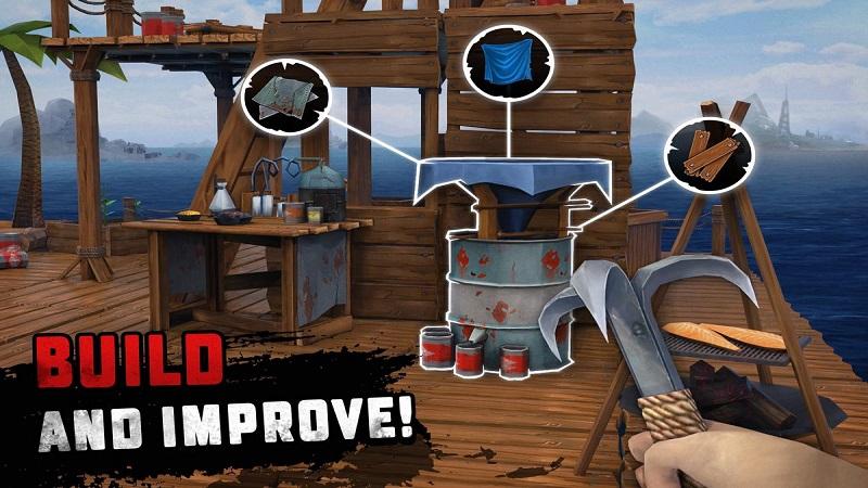 海洋游猎:生存无限金币版游戏截图