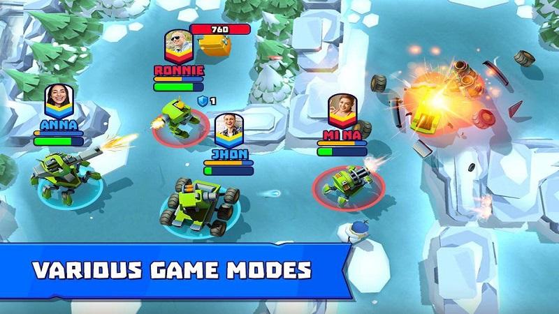 坦克争霸破解版游戏截图