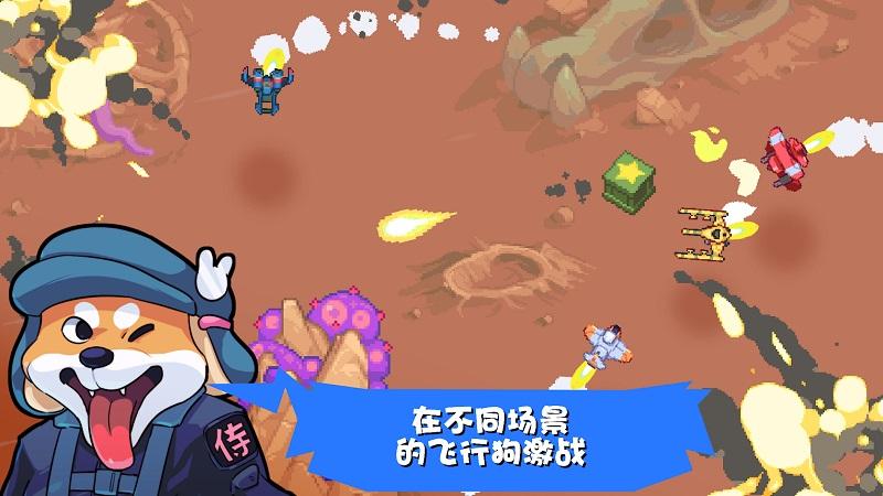 雷霆战狗无限钻石版游戏截图