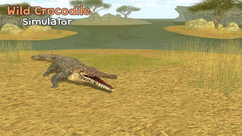 野生凶鳄模拟器3D截图1
