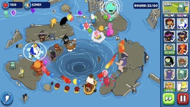 Bloons Adventure Time截图3