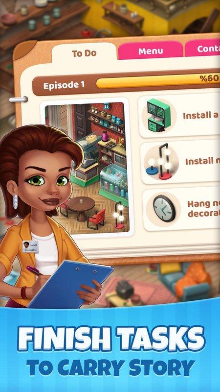 庄园咖啡馆无限生命版游戏截图
