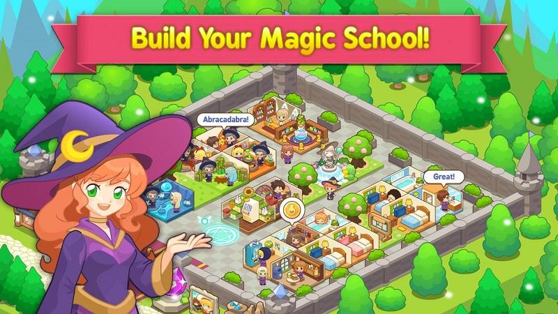 魔法校園游戲截圖
