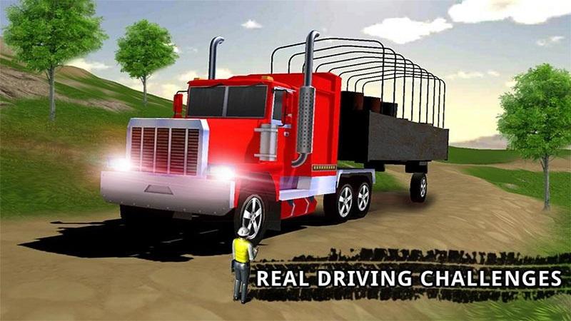 卡车司机货物运输截图1