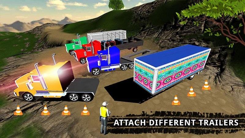 卡车司机货物运输截图3