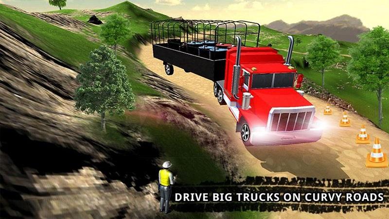 卡车司机货物运输截图2