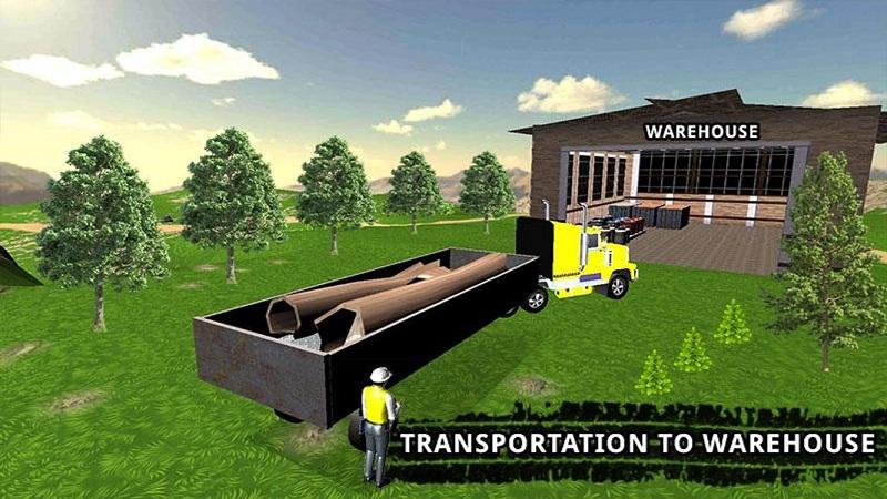 卡车司机货物运输截图4