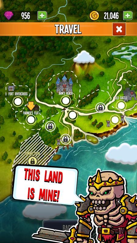 五国英雄:国王的纷争无限金币钻石版游戏截图