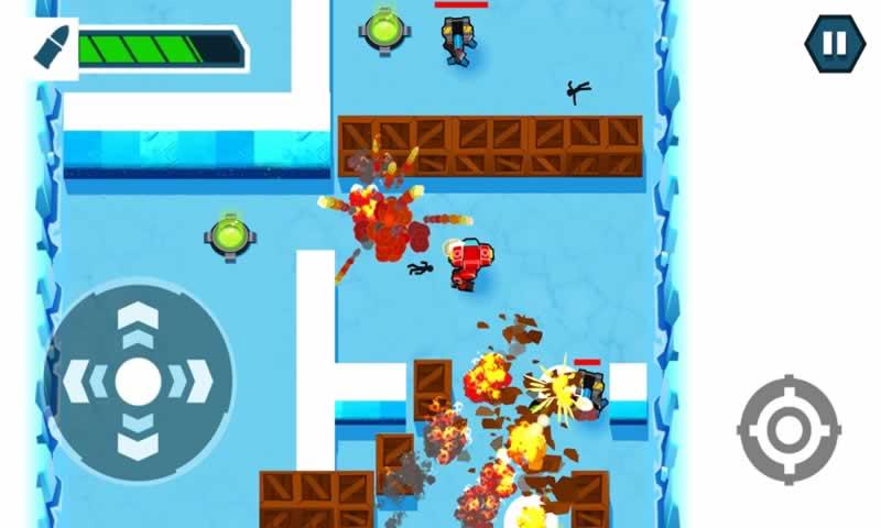 火柴人战争机器无限金币版游戏截图
