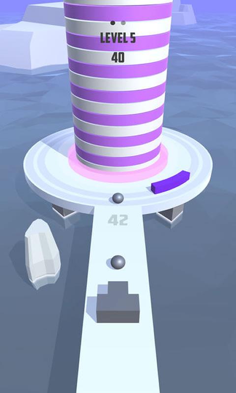 3D弹射球游戏截图