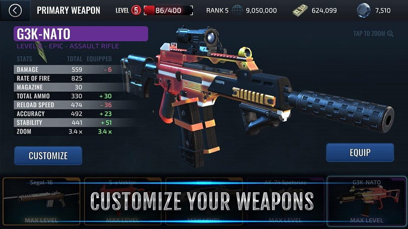 武装掠夺人物无敌版游戏截图