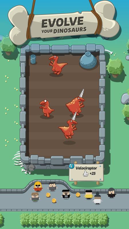疯狂恐龙公园无限钻石版游戏截图