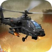 武装直升机攻击图标