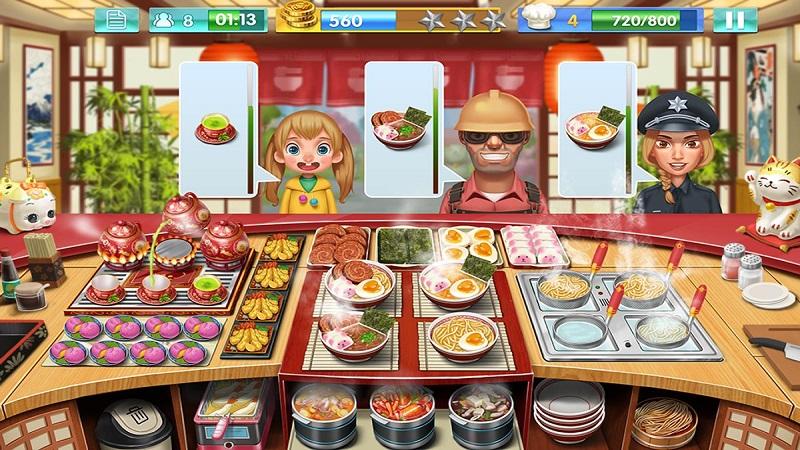 女厨师的食神之路游戏截图