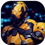 超级战争英雄钢铁机器人图标