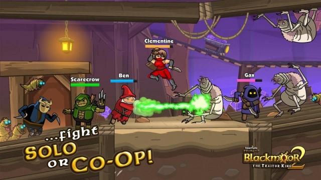 黑暗荒野2安卓版游戏截图