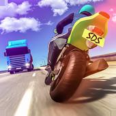 公路摩托车骑手模拟器图标