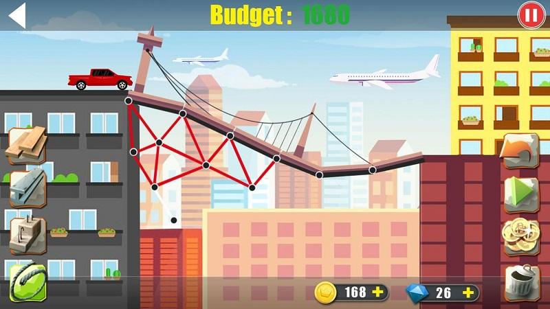 工程建造:桥梁无限内购版游戏截图