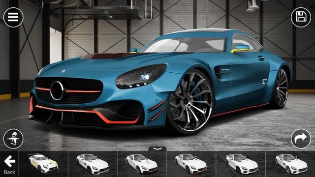 3D精致车模破解版游戏截图
